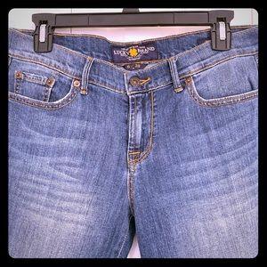 Lucky Brand Women's Jeans size 6R Sweet & Low